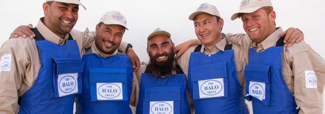 Deminers in Herat Province, Afghanistan, HALO Trust