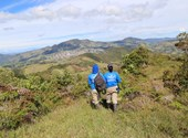 Deminers on mountains in Colombia, HALO Trust