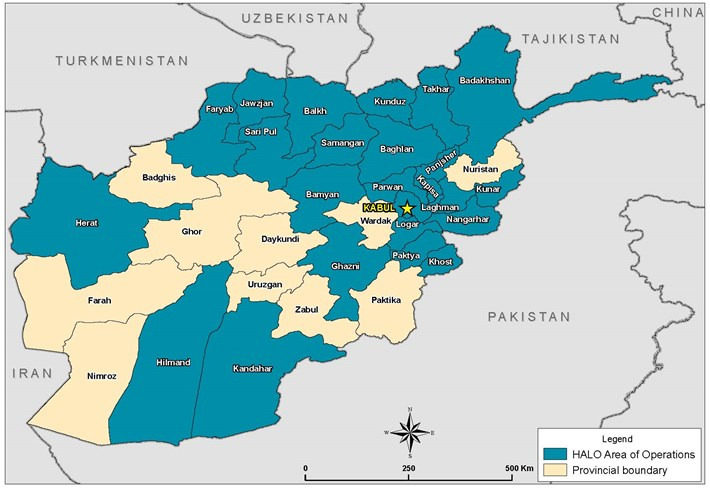 Our work in afghanistan the halo trust map of afghanistan gumiabroncs Images