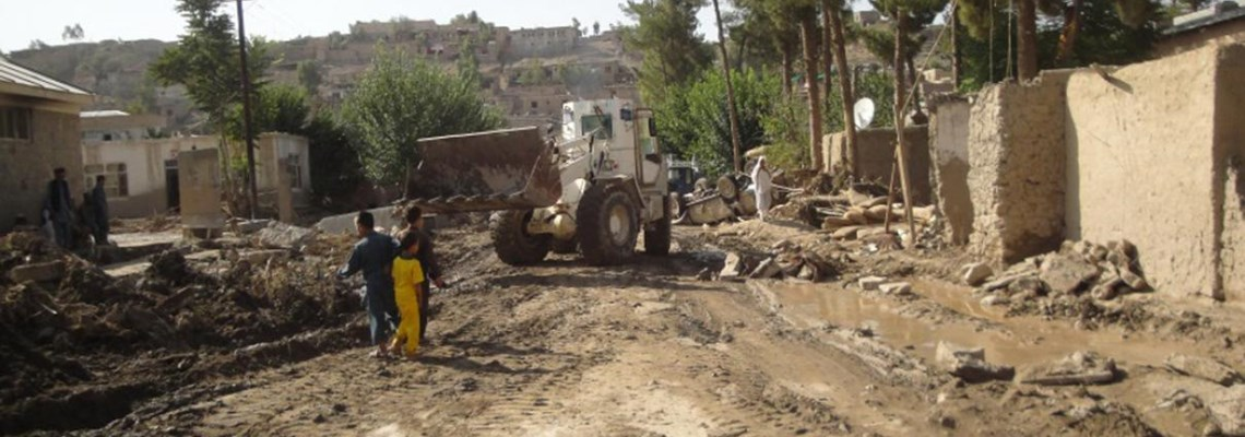 Flash flood relief in Surobi District, Kabul Province, Afghanistan provided by HALO Trust
