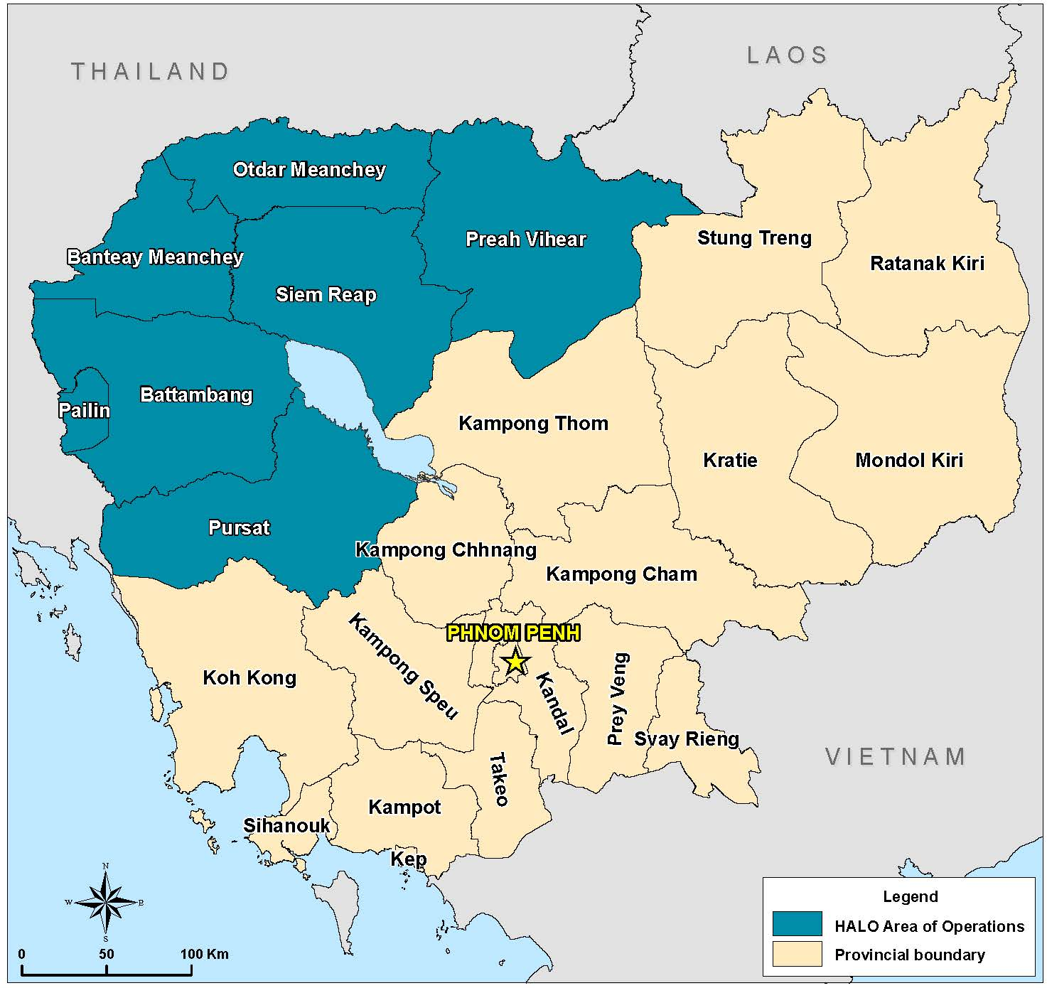 Our Work In Cambodia What We Do And Where The HALO Trust - Us minefield map