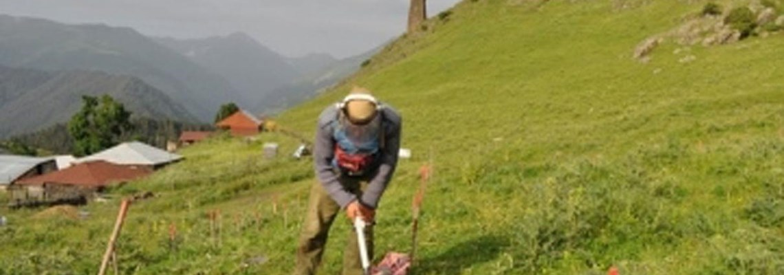 Minefield cleared in Tusheti protected areas in Georgia, HALO Trust