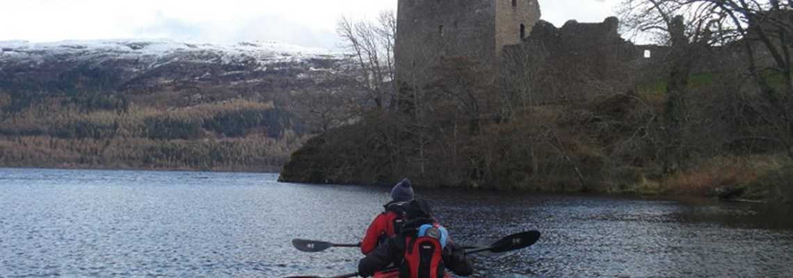 UK fundraising by Claire and Ali's Great Glen Paddle, HALO Trust