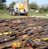 Weapon Destruction in Central Africa Republic, HALO Trust