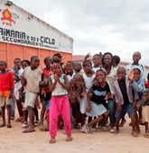 Children beneficiaries Kuito City Angola HALO trust
