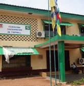 Central African Football Federation head quarters, Bangui, Central African Republic HALO Trust
