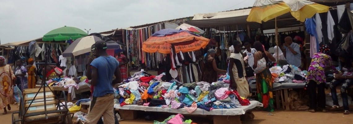 Market Bangui Central African Republic HALO Trust