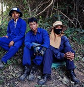 Deminers in Laos, HALO Trust