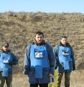 Mine clearance in Georgia, HALO Trust.