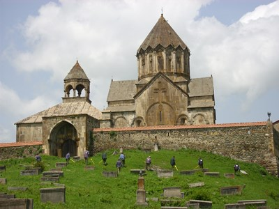 Gandzasar Monastery clearance of cluster munitions HALO Trust
