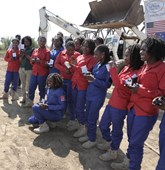Women deminers in Mozambique, HALO Trust.