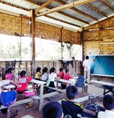 Risk education in Laos, HALO Trust