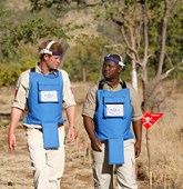 Prince Harry visits Mozambique, HALO Trust.