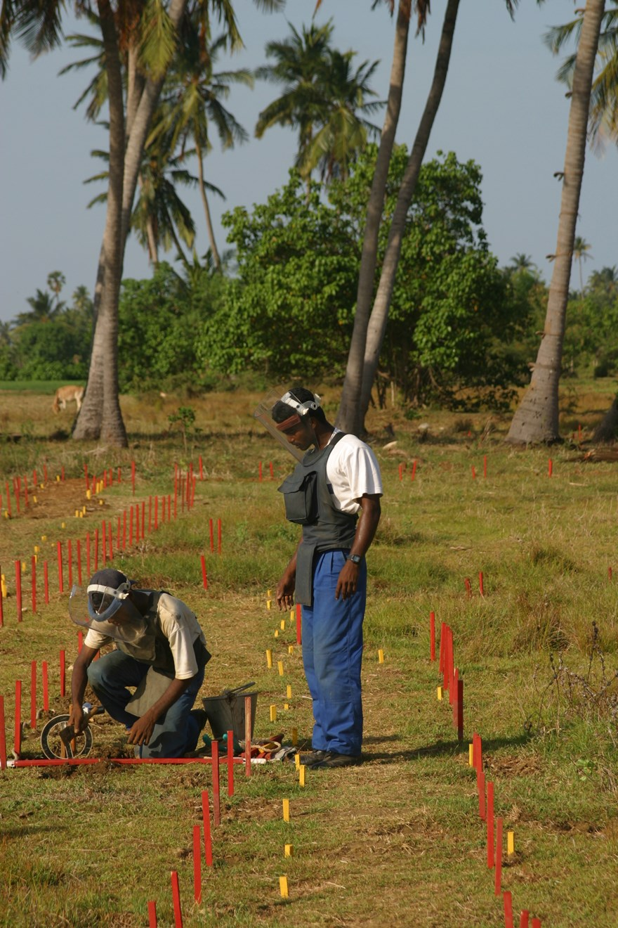 Sri Lanka is one of the most densely mined countries in the world. Since 2002 HALO has removed over 200,000 mines.