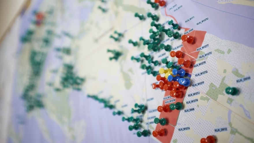 Sri Lanka Could Be Mine Free By The HALO Trust - Us minefield map