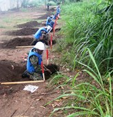 Deminers in Ivory Coast, HALO Trust.