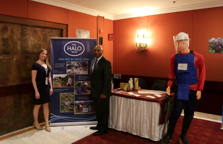 U.S. State Department, PM/WRA at the HALO stand