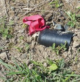 A M095 submunition found also near Nerkin Horatagh, HALO Trust.