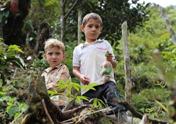 Boy beneficiaries, Colombia