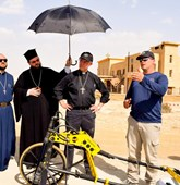 Archbishop of Canterbury visits the Baptism site
