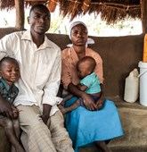 Clever Dzayaba and wife Rachel live in Mazemba village, Zimbabwe. The HALO Trust have begun to clear the minefield close to their home.