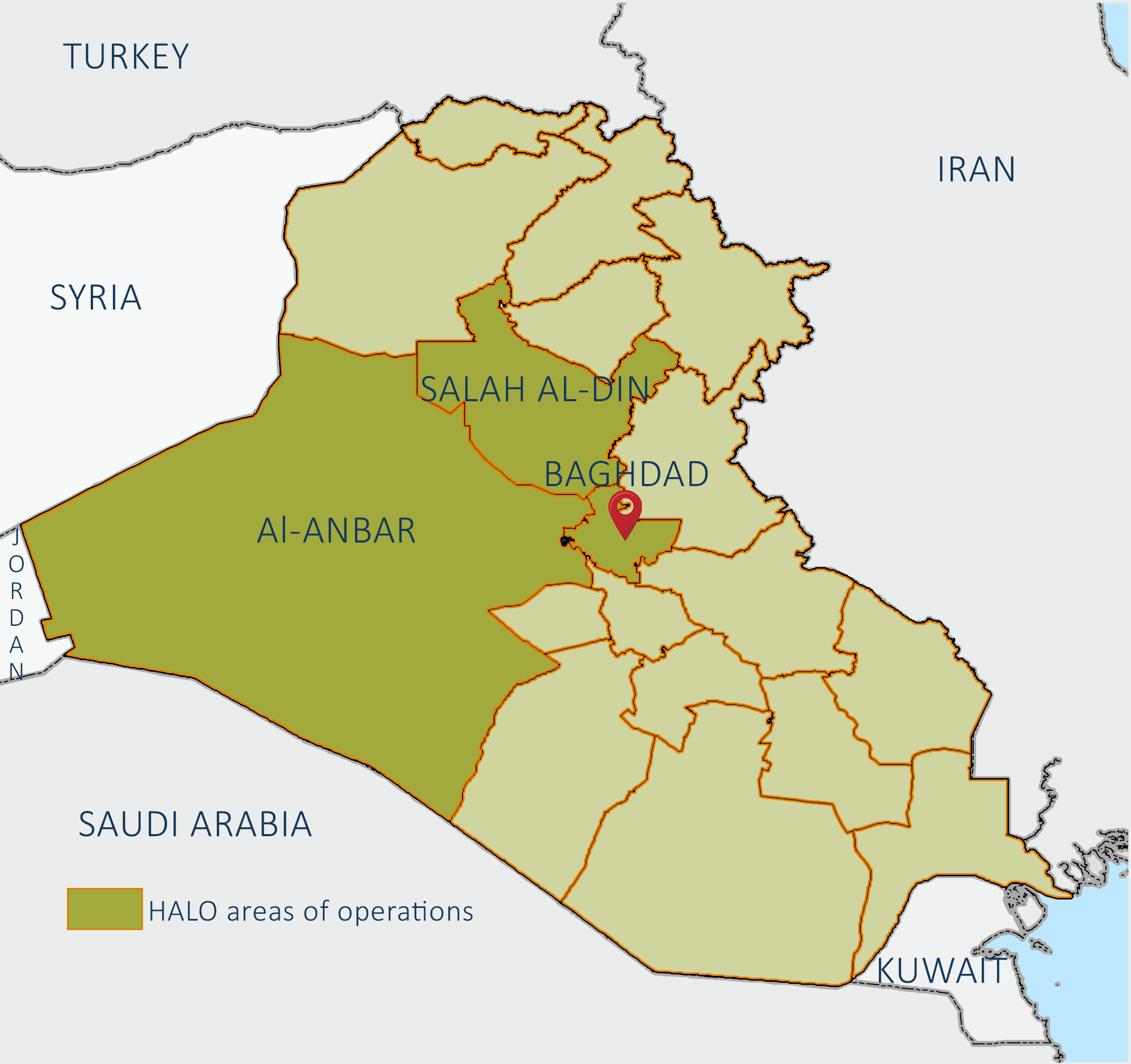 The HALO Trust in Iraq   The HALO Trust