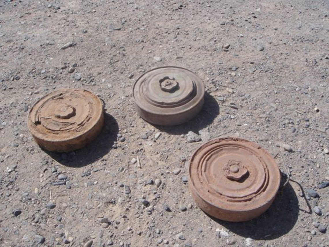 TM-46 anti-vehicle mines